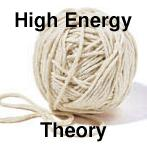 High energy theory icon