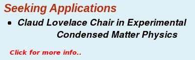 Seeking Applicants Lovelace